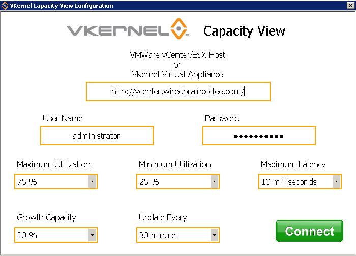 vKernel Capacity View -1