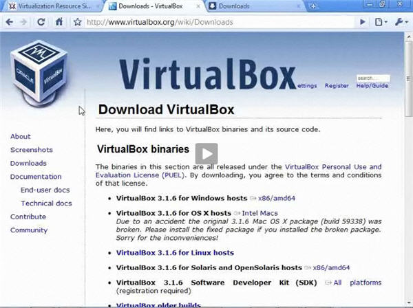 using-virtualbox