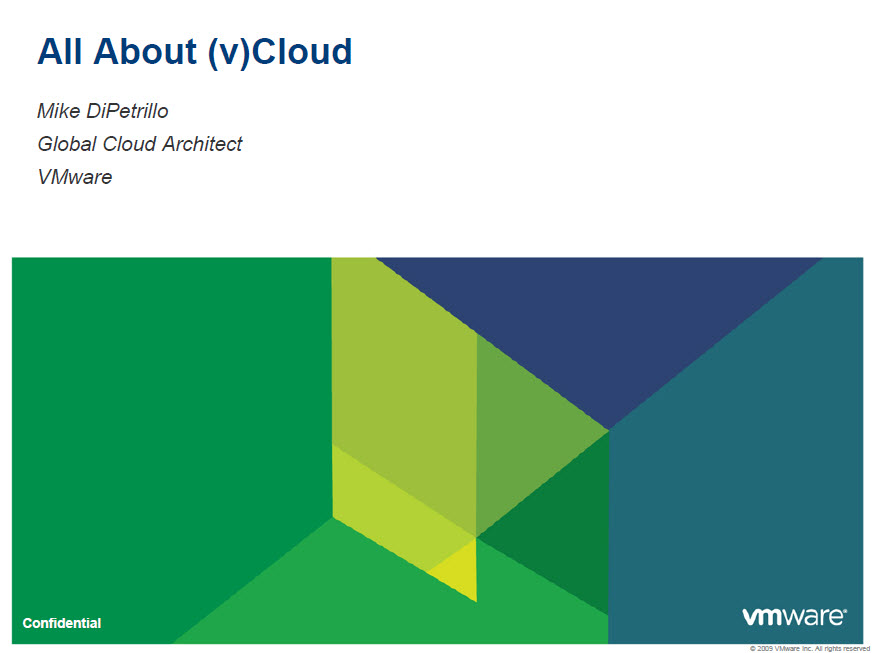 All About (v)Cloud by Mike DePetrillo graphic