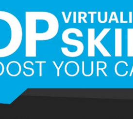 Infographic - Top Virtualization Skills to Boost Your Career